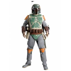 Rubies Costume Co. Inc Ultimate Deluxe Boba Fett Costume from Star Wars  - Green - Size: Extra Large