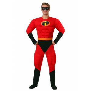 Disguise Men's Super Mr. Incredible Costume from The Incredibles