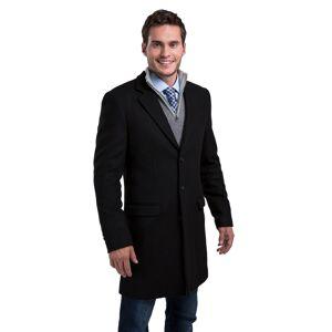 FUN Wear Marvel Comic Print Superhero Overcoat (Secret Identity)  - Black - Size: Large