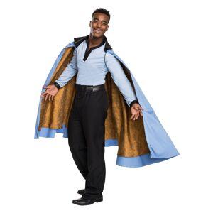 Rubies Costume Co. Inc Lando Calrissian Grand Heritage Costume for Men  - Black/Blue - Size: ST