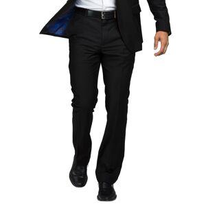 FUN Suits Doctor Who TARDIS Pop Interior Slim Fit Suit Pants  - Black/Blue - Size: 30