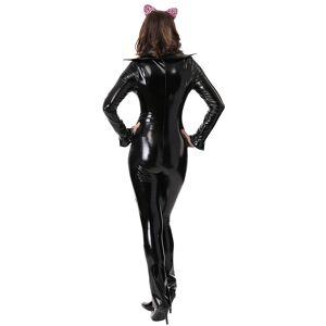 FUN Costumes Gretchen Wieners Mean Girls Cat Halloween Costume  - Black/Pink - Size: Medium