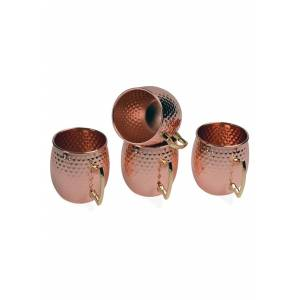 Kangaroo 4 Pack Copper Moscow Mule 16oz  - Brown/Orange - Size: One Size