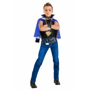 FUN Costumes Boy's Yu-Gi-Oh YuGi Costume   Anime Costume for Boys  - Black/Blue - Size: Large