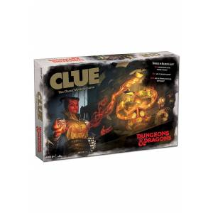 USAopoly CLUE Dungeons and Dragons Board Game  - Beige/White - Size: One Size