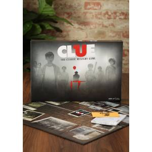 USAopoly IT Clue Board Game  - Red/Brown/Gray - Size: One Size