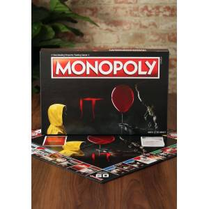 USAopoly IT Monopoly Board Game  - Black/Red/Yellow - Size: One Size