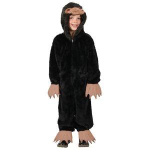 Princess Kids Fantastic Beasts Niffler Costume  - Black/Beige - Size: Extra Small