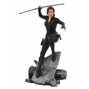 Diamond Select Marvel Premiere Avengers: Engame Black Widow Action Statue  - Black/Gray - Size: One Size