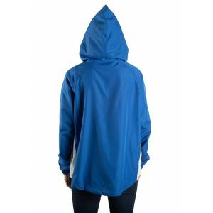 Bioworld Merchandising / Independent Sales Womens Riverdale Windbreaker  - Blue/Yellow/White - Size: Extra Large