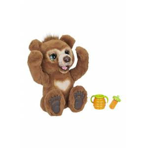 Hasbro Interactive Cubby the Curious Bear FurReal Stuffed Toy  - Yellow - Size: One Size
