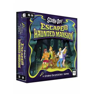 USAopoly Escape from the Haunted Mansion: Scooby Doo! Coded Chronicles Game  - Green/Blue - Size: One Size