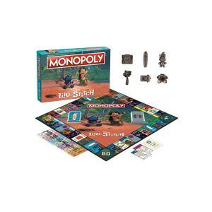 Monopoly Disney Lilo & Stitch Edition Game MONOPOLY  - Green/Orange - Size: One Size