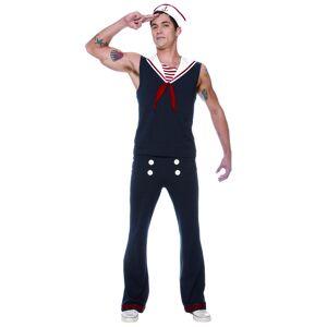 Seeing Red Men's Deckhand Sailor Costume