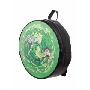 Bioworld Merchandising / Independent Sales Backpack Rick & Morty Portal  - Green/Black - Size: One Size