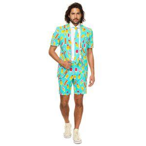 Opposuits Opposuit Iceman Summer Suit for Men  - Orange/Green - Size: 44
