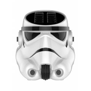Pangea Brands Stormtrooper 2-Slice Toaster in Gloss White  - White - Size: One Size