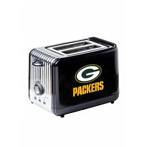 Boelter Brands NFL Green Bay Packers Toaster  - Black/Orange/White - Size: One Size