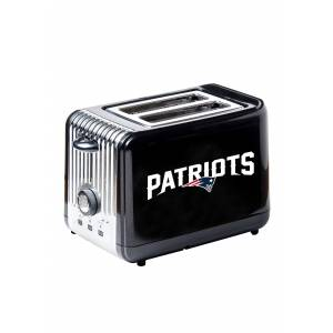 Boelter Brands NFL New England Patriots Toaster  - Black/Blue/White - Size: One Size
