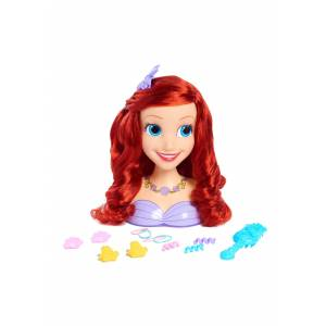 United Disney Princess Ariel Styling Head  - Orange - Size: One Size