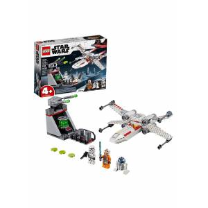 Lego Star Wars X-Wing Starfighter Trench Run Building Set  - Green/Gray/White - Size: One Size