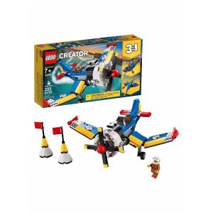 Lego Race Plane Building LEGO Creator Set  - Blue/White/Yellow - Size: One Size