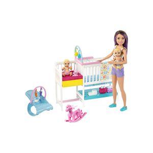 Mattel Skipper Barbie Babysitters Inc Nursery Playset  - Black/Blue/White - Size: One Size