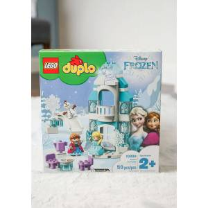Lego Frozen Ice Castle LEGO DUPLO  - Blue/Purple/White - Size: One Size