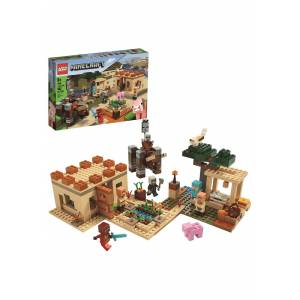Lego The Pillager Raid - LEGO Minecraft  - As Shown - Size: One Size