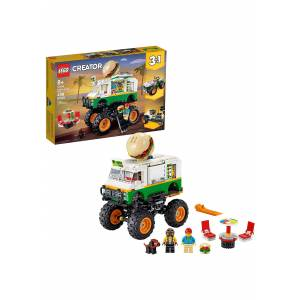 Lego Monster Burger Truck Building Set LEGO Creator  - Green/White - Size: One Size