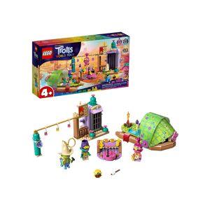 Lego Lonesome Flats Raft Adventure LEGO Trolls Building Set  - Green/Purple/Beige - Size: One Size
