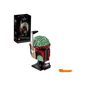 Lego Star Wars LEGO 18+ Boba Fett Helmet  - Black/Brown/Green - Size: One Size