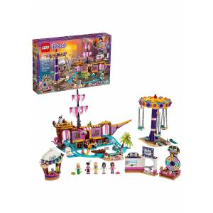 Lego Heartlake City LEGO Friends Amusement Pier Building Set  - Yellow/Pink/Purple - Size: One Size