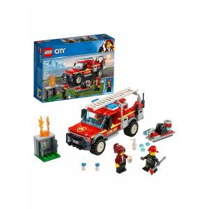 Lego Fire Chief LEGO City Response Truck  - Red - Size: One Size