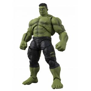 Bandai Hulk Avengers: Infinity War SH Figuarts Action Figure  - Black/Green - Size: One Size