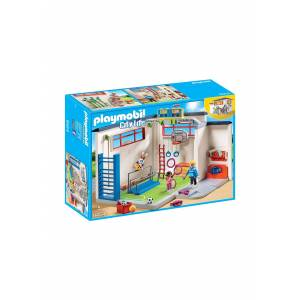 Playmobil - Gym Play Set  - Green/Blue/White - Size: One Size