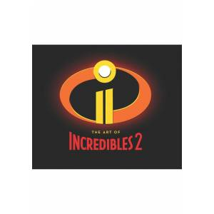 Chronicle Books The Art of Incredibles 2 Hardcover Book