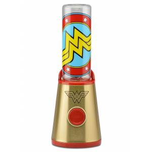 Select Brands DC Comics Wonder Woman To-Go Blender  - Blue/Red - Size: One Size