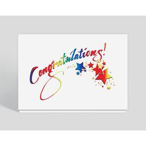Gallery Collection Sparkling Congratulations Card - Congratulations Cards