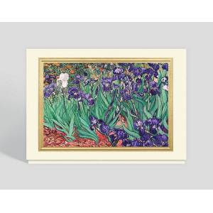 Gallery Collection Irises Greeting Card - Greeting Cards