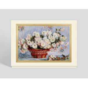 Gallery Collection Chrysanthemums Greeting Card - Greeting Cards
