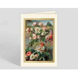 Gallery Collection Peonies Greeting Card - Greeting Cards