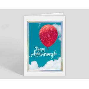Gallery Collection Anniversary Afloat Card - Greeting Cards