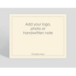 Gallery Collection Cream Border Horizontal Matte Card - Greeting Cards