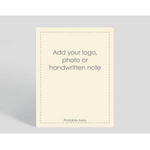 Gallery Collection Cream Border Vertical Matte Card - Greeting Cards