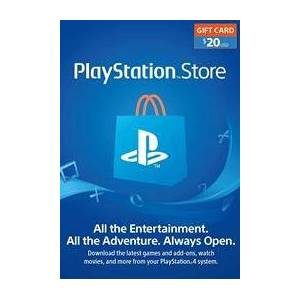 Solutions2Go (PSN) PS4 - $20 USD PlayStation Gift Card