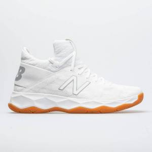 New Balance FreezeLX 2.0 Men's Indoor, Squash, Racquetball Shoes White/Gray Size 10.5 Width D - Medium