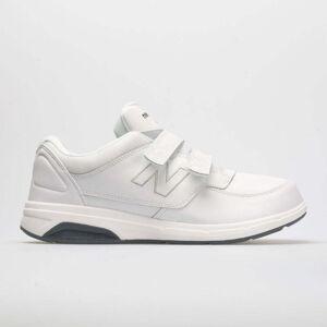 New Balance 813 Velcro Men's Walking Shoes White Size 11.5 Width 4E - Extra Wide