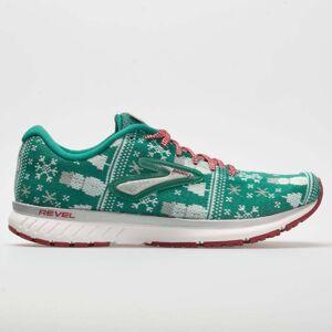 Brooks Revel 3 Ugly Sweater Women's Running Shoes Green Size 10.5 Width B - Medium