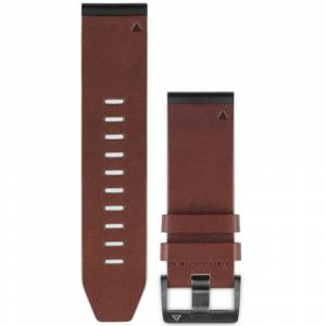 Garmin QuickFit 26mm Brown Leather Band HRM, GPS, Sport Watch Accessories